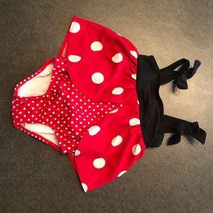 Cute ladybug bathing suit